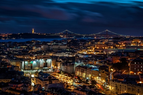 Night in Lisbon