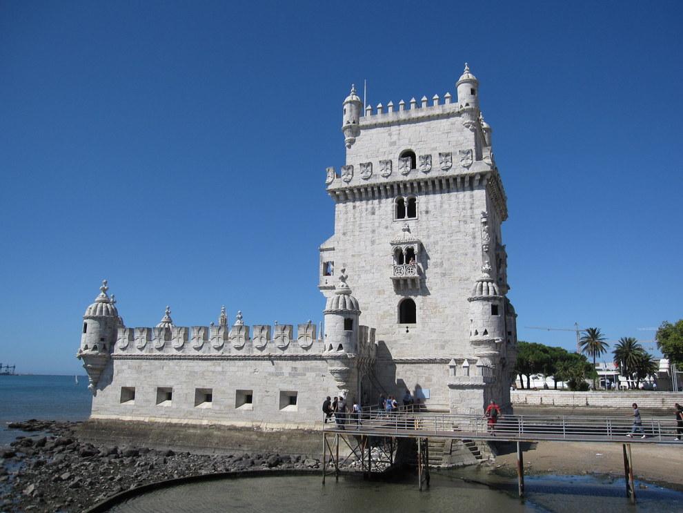 La tour de Belém à Lisbonne.