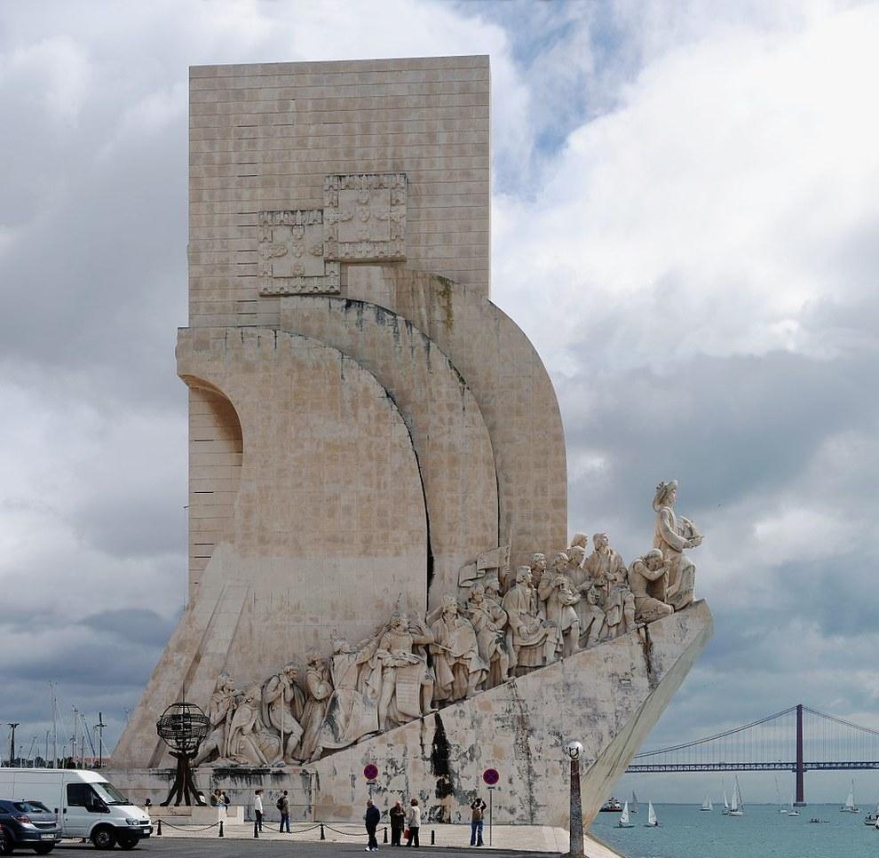 Padrão dos Descobrimentos à Lisbonne.