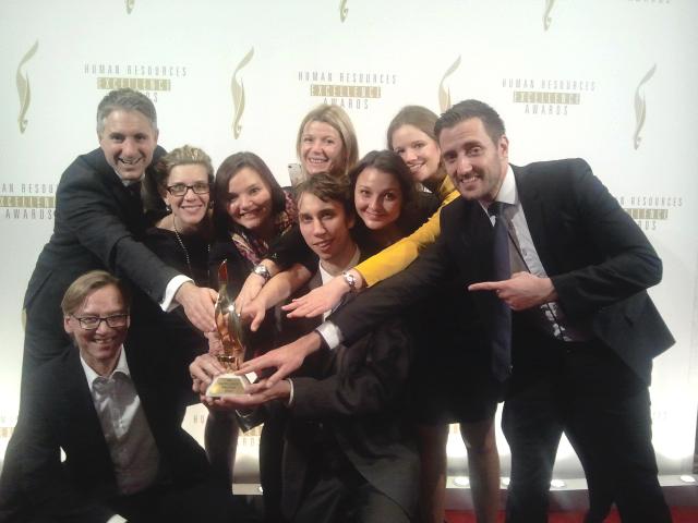 Blind Applying won theEmployer Branding Innovation 2014 Award by Trendence