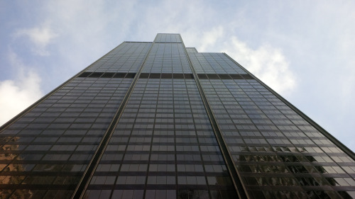 Willis Tower, former Sears Tower, the second tallest building in the US!