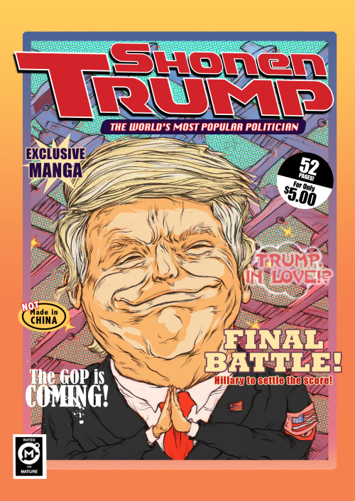 Shonen Trump Cover by  Okell Lee