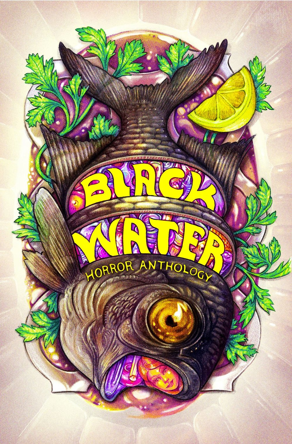 Black Water Cover Design by  Chris Passabet