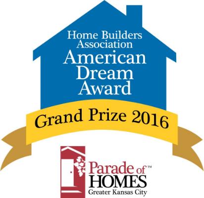Kansas city custom home builder larson building company for American dream home builders