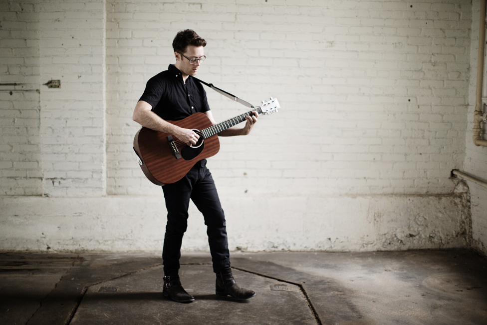 Portraits of Jeremy Messersmith, photographed by Eliesa Johnson.