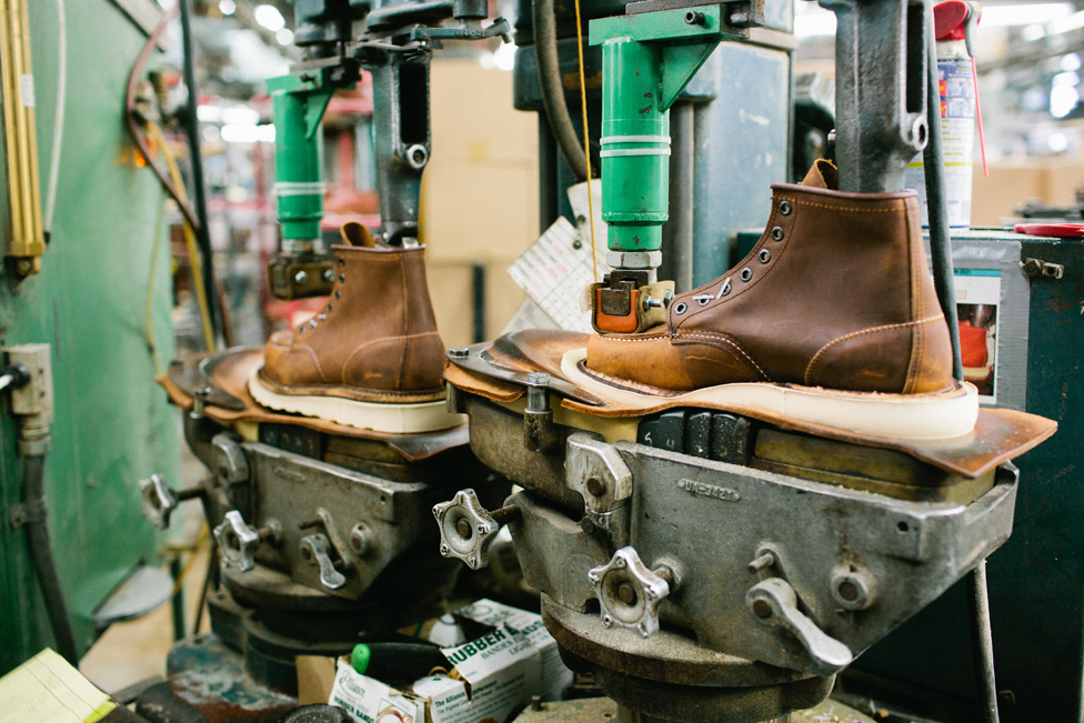 Red Wing Shoe Company, photographed by Eliesa Johnson.