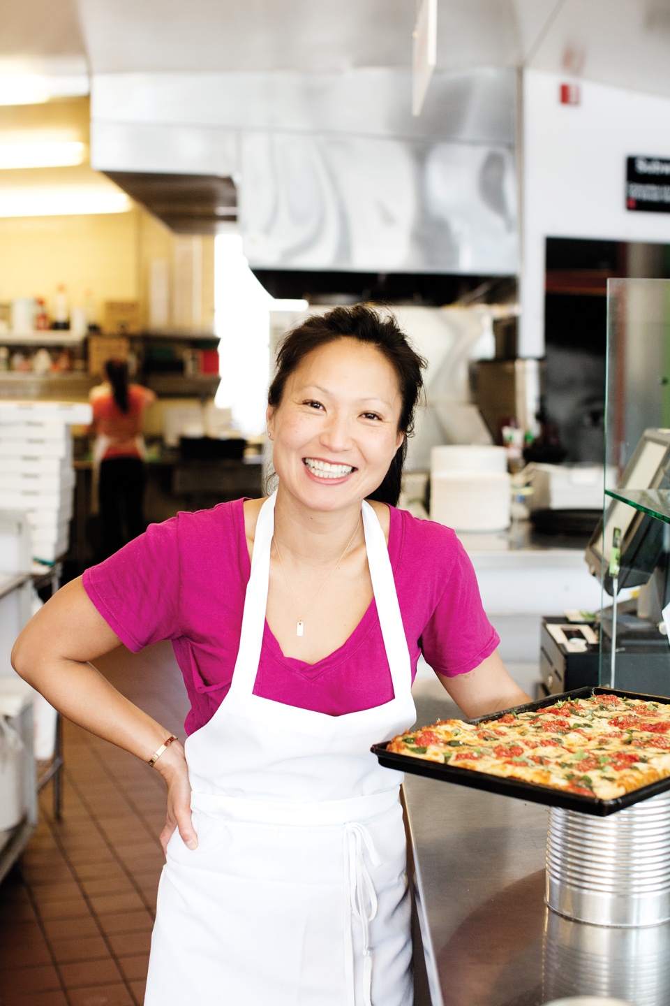 Ann Kim of  Hello Pizza  for   Mpls.St.Paul Magazine.