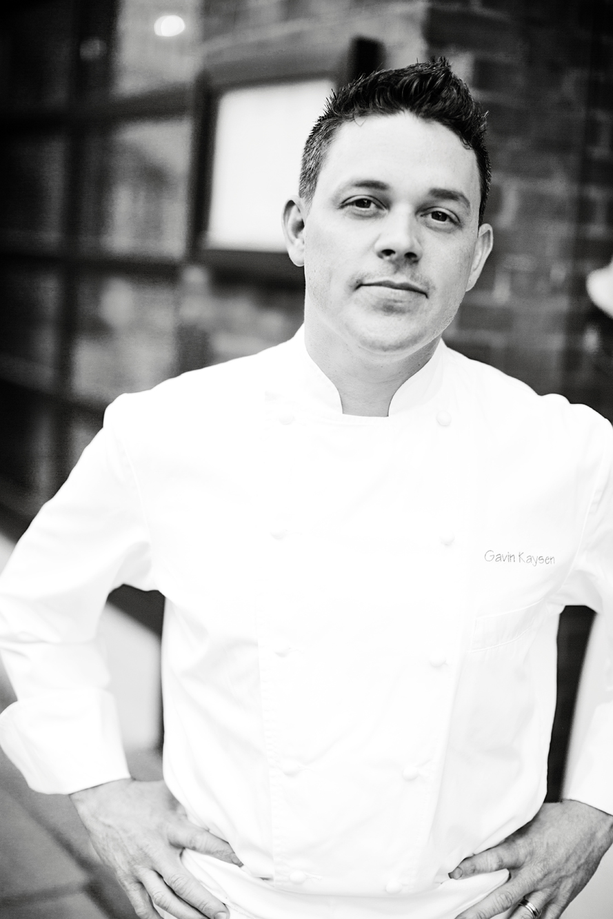Chef Gavin Kaysen for  Food and Wine Magazine .