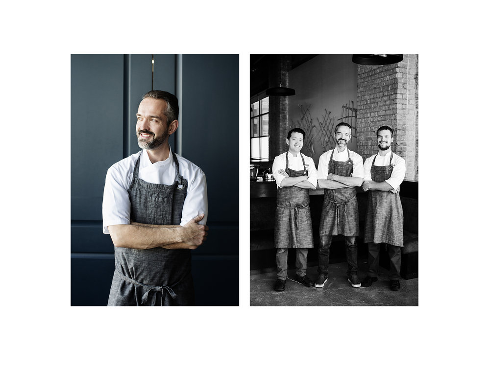 Alex Roberts, Lucas Rosenbrook and Mätti Sprague of Restaurant ALMA