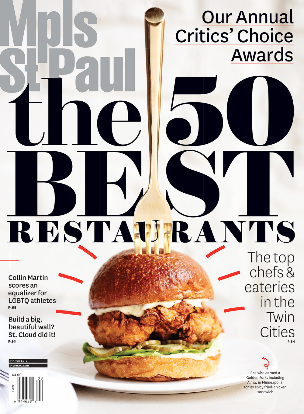 Mpls St Paul Magazine 2019 Best Of Restaurants Eliesa