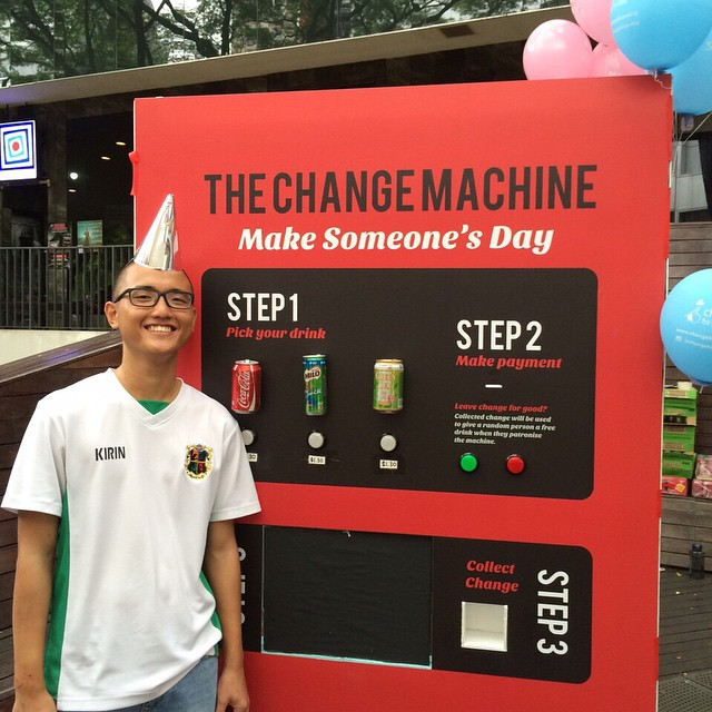 COME DOWN TO VISIT JEM THE UNICORN AT CHANGE FOR GOOD EVENT @ SCAPE, THE DECK