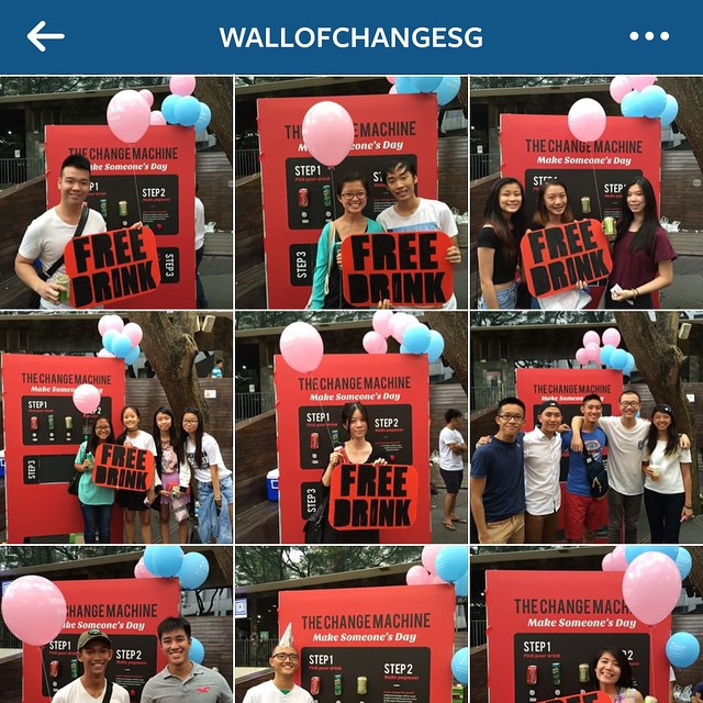 Congratulations to those lucky ones who received a free drink on Saturday! 🎉 And thank you to those who left behind their change to make their day! We hope you all had fun! 😊