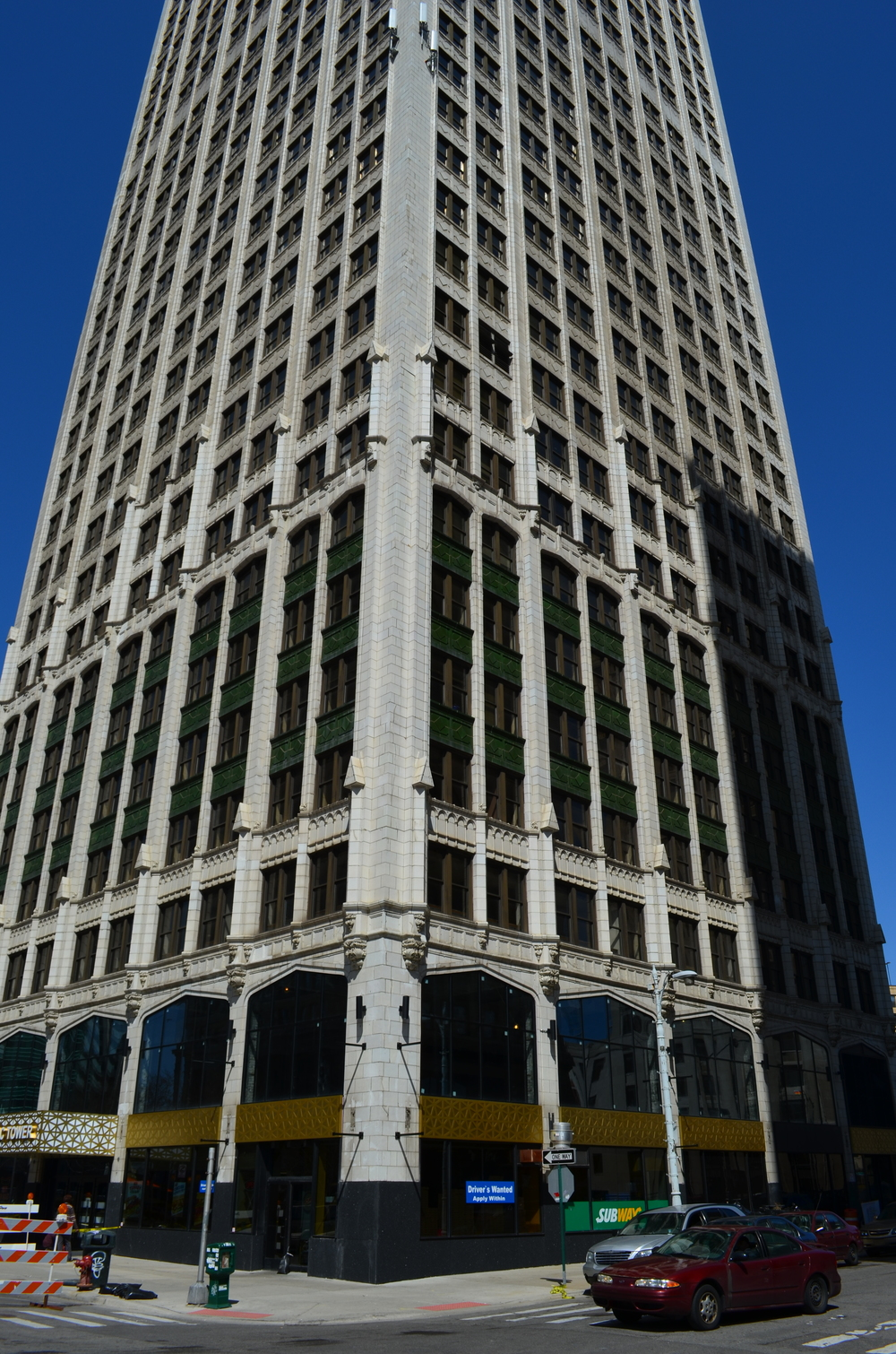 Cadillac Tower - Detroit, MI