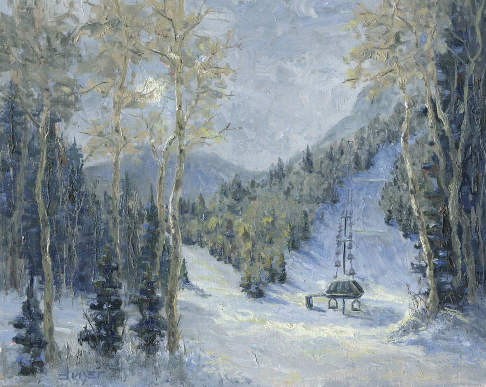 """""""Good Day On Empire""""    16x20   Oil on linen panel   In private collection, Park City, UT"""