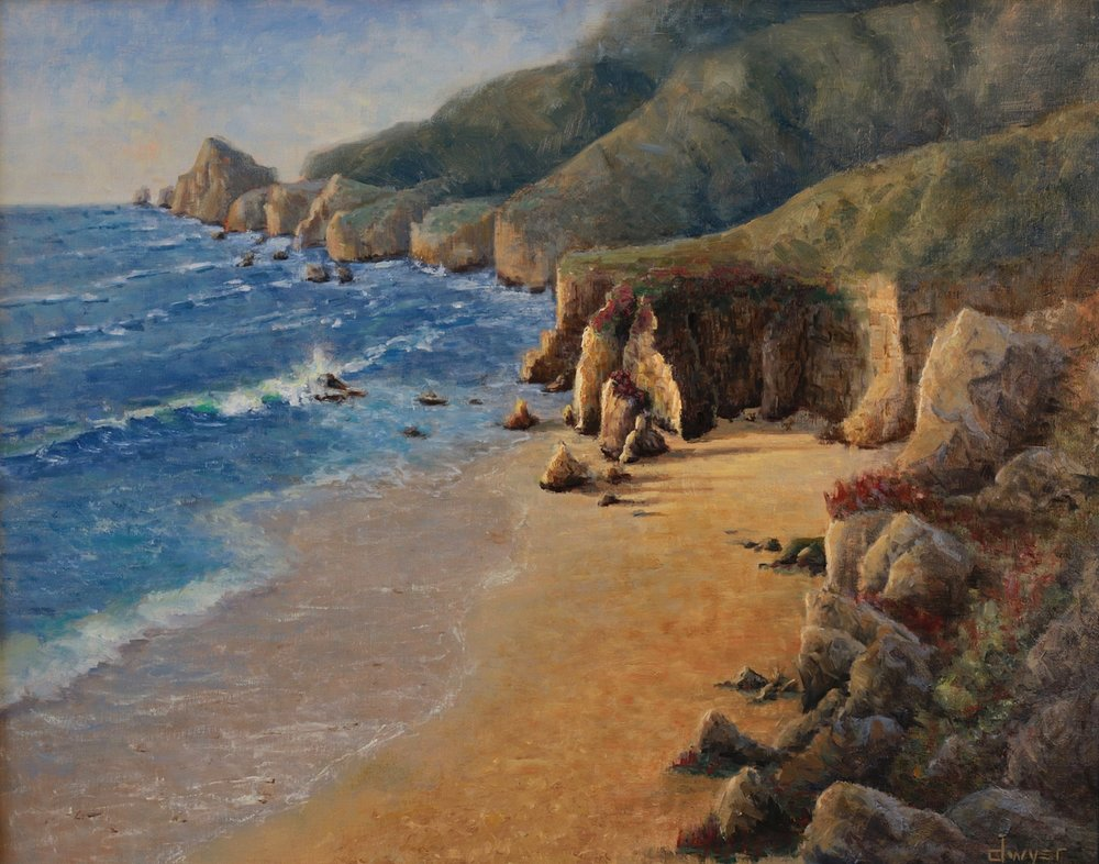 """""""California Dreaming""""    24x30   Oil on linen panel   In collection of artist"""