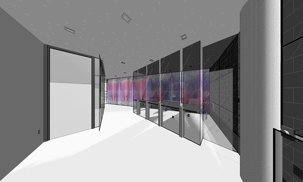 Un project 3D de Ianick Raymond pour L'Agorade la Danse à Montréa  l.