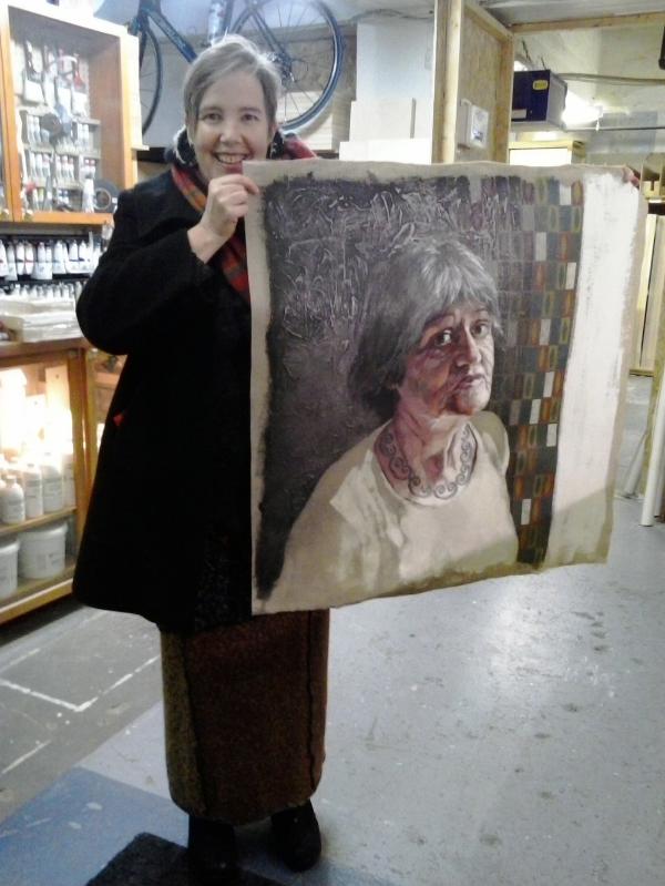 Portrait de Mama par Mance Lanctôt