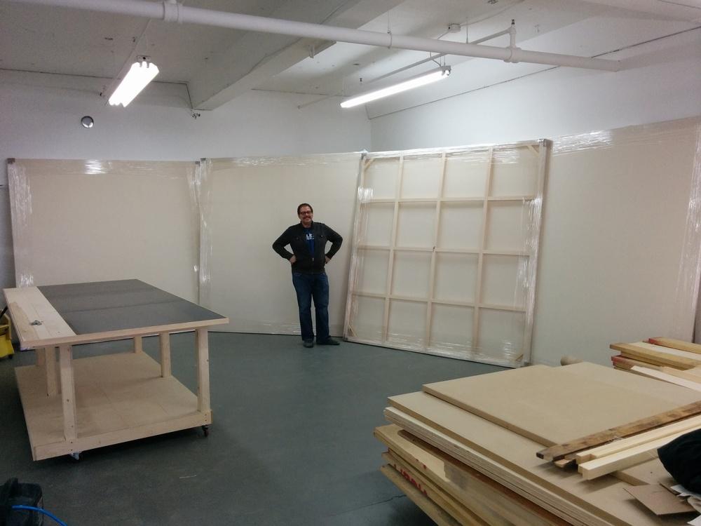 Toiles grands formats 250x250cm
