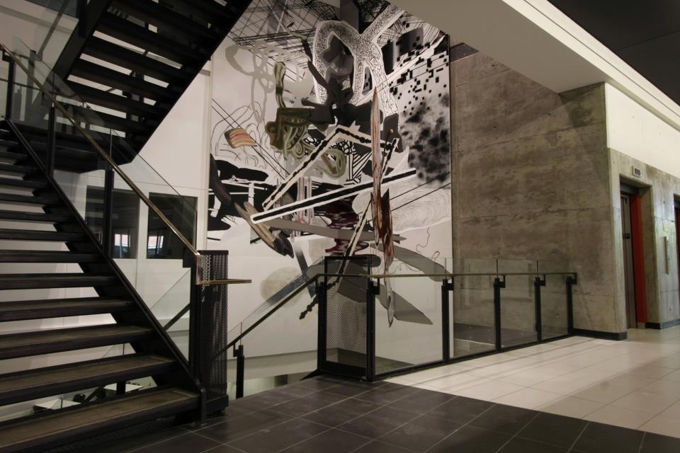Jean Sébastien Denis, projet d'intégration à l'architecture. Pavillon de l'UQO à St-Jérôme