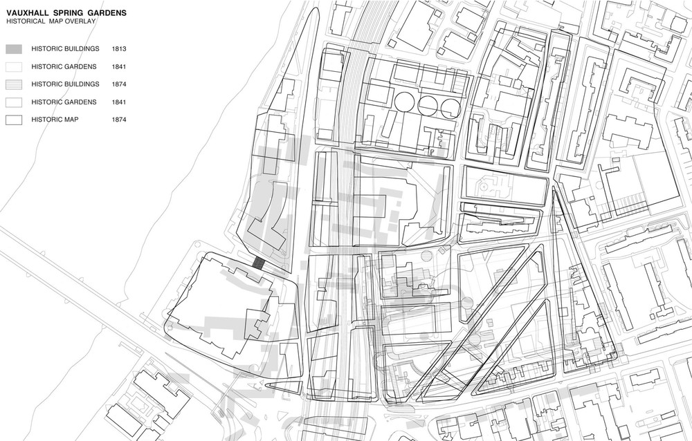 The Historic overlay of various period as pointed out in the Masterplan