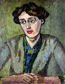 Portrait by Roger Fry, 1917
