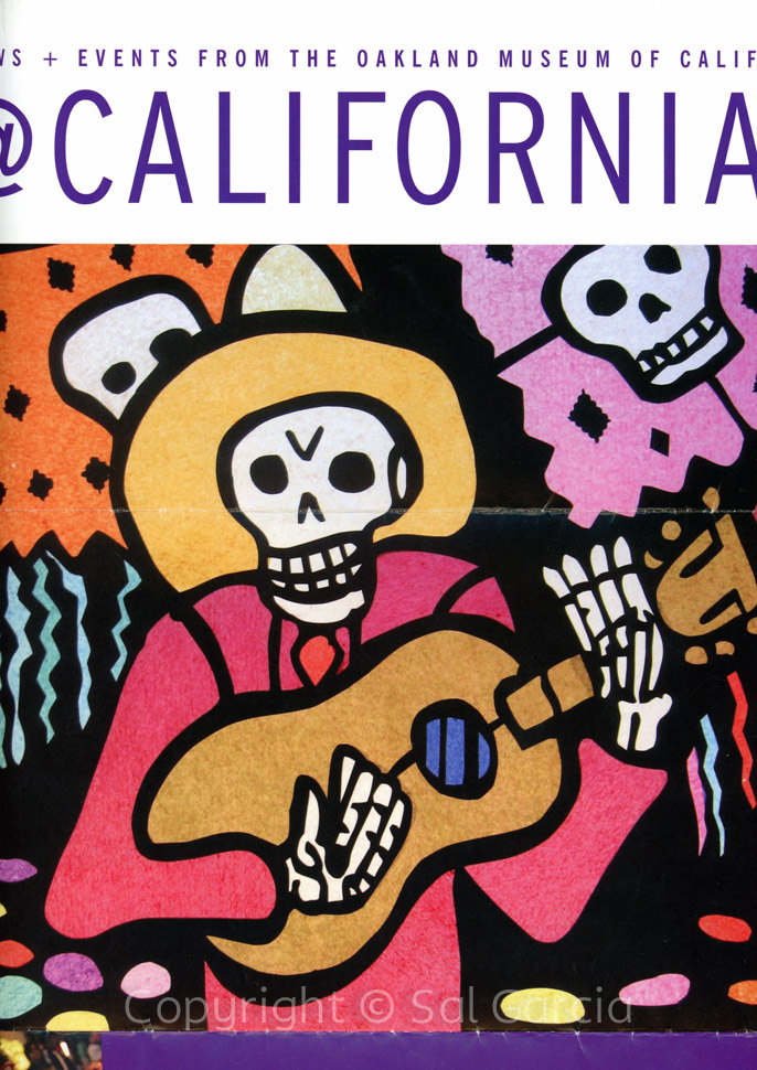 Detail of Sal's Featured Day of the Dead Installation at the Oakland Museum