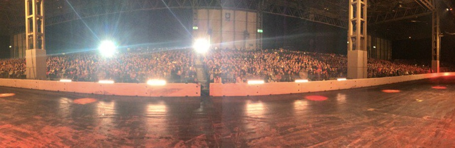 Another Live Action Arena full house, great to see so many of you here this weekend @Autosport_Show #CroftysPics