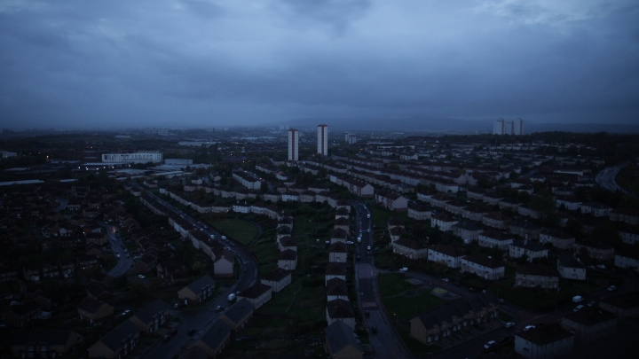 Darren - Glasgow skyline from Red Road.jpg