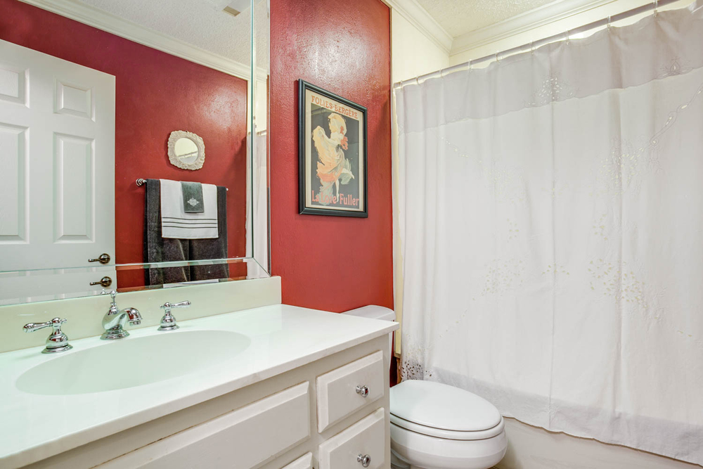 Second Bathroom  ::  5154 Westgrove Drive