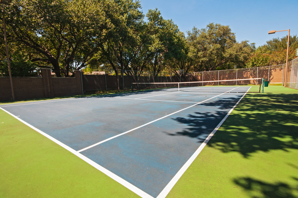 Community Tennis Court  ::  5154 Westgrove Drive