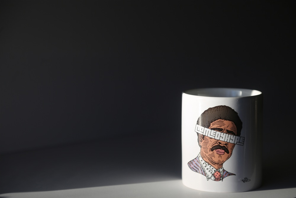 The Sage Guillory + ComedyHype Pryor Mug
