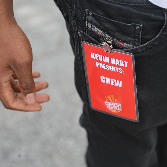 "We stopped by Comedy Central's Kevin Hart comedian talent search. ""I'm looking to create opportunity."" - Kevin Hart"