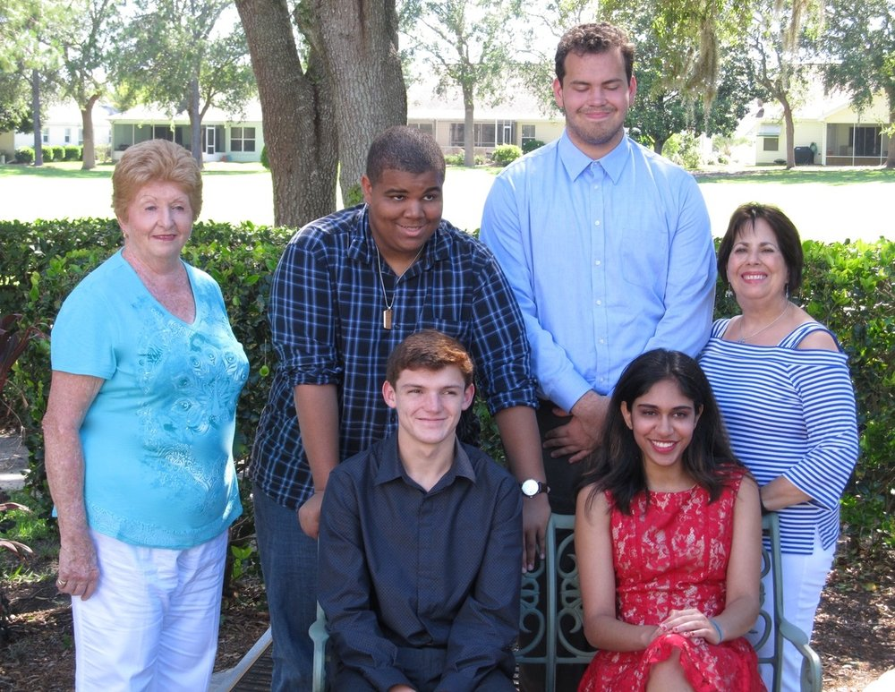 Scholarship recipients    We began a   GRANT A WISH   program to give $300.00 for a family to have a day of fun that they otherwise would not be able to do. Four families will be given the opportunity each year. if anyone is interested an application will be sent to them, send an email to sallygage5@centurylink.net       ANNUAL FAMILY PICNIC    The picnic was held at Baseline Park in Ocala, approx. 50 people attended, there were games, bubbles, clowns, face painting, sensory tables and food. Members of The Wolf Pack United attended and helped with the children giving parents some time to enjoy talking with each other.       SCHOLARSHIP PROGRAM    Scholastic scholarships were given to 4 students for $1000.00 each. Two were presented to students with autism who will be furthering their education and two to siblings of someone with ``````autism.