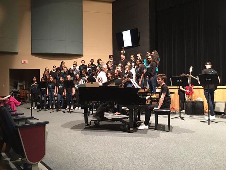 The Rock Band and Chorus