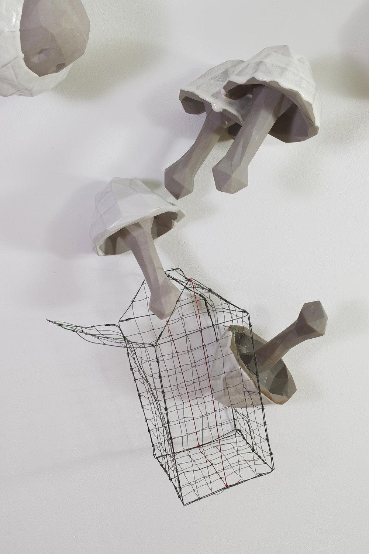 Basket of Mushrooms (detail)