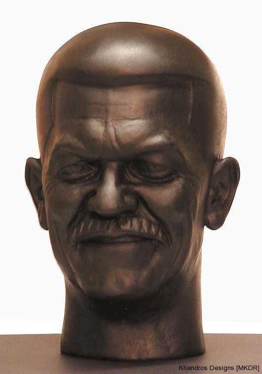 Private client NYC lifesize bust