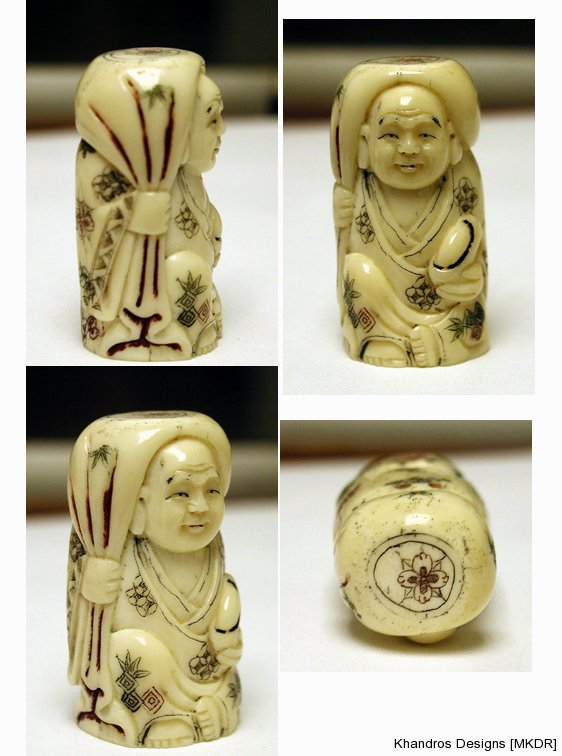 Netsuke Figurine Replica for private collection