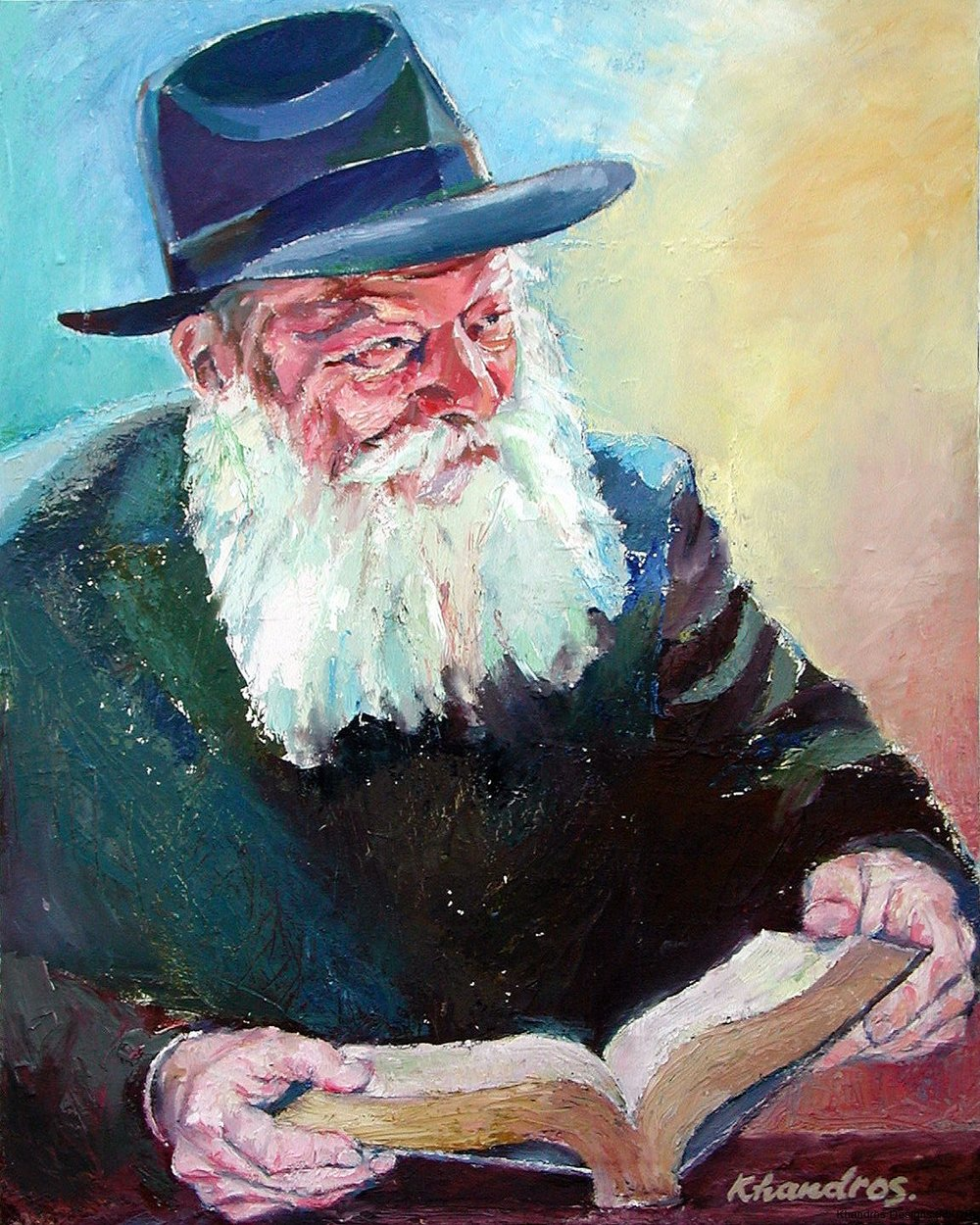 Lubavitch Rabbi Reading.jpg