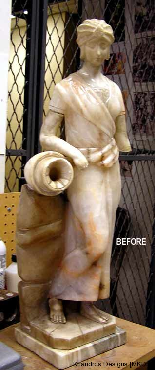 Alabaster Figurine Restoration