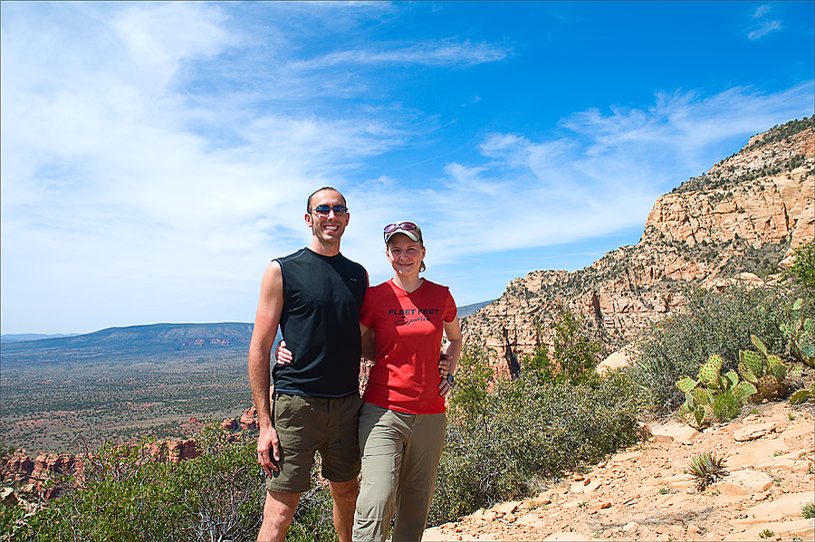 Bear Mountain Hike in Sedona