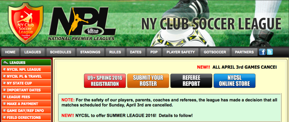 NYCSL Announcement