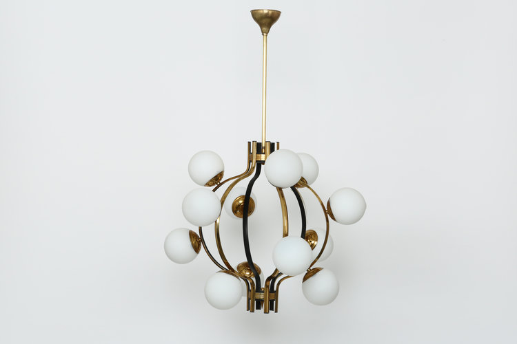 Stilnovo chandelier illustris stilnovo chandelier aloadofball Gallery