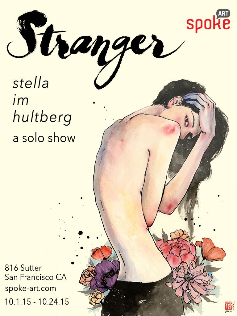 Poster for Stranger, Solo Show