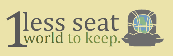 #1LessSeat, #1World2Keep