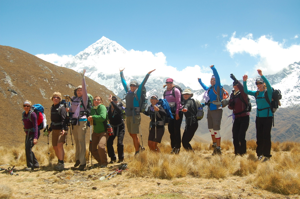 ELM WOMEN HIKE SALKANTAY AND INCA TRAILS TO MACHU PICCHU, PERU: 2010