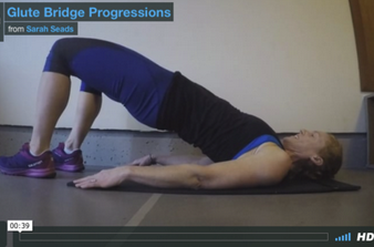 Glute Bridge Progressions