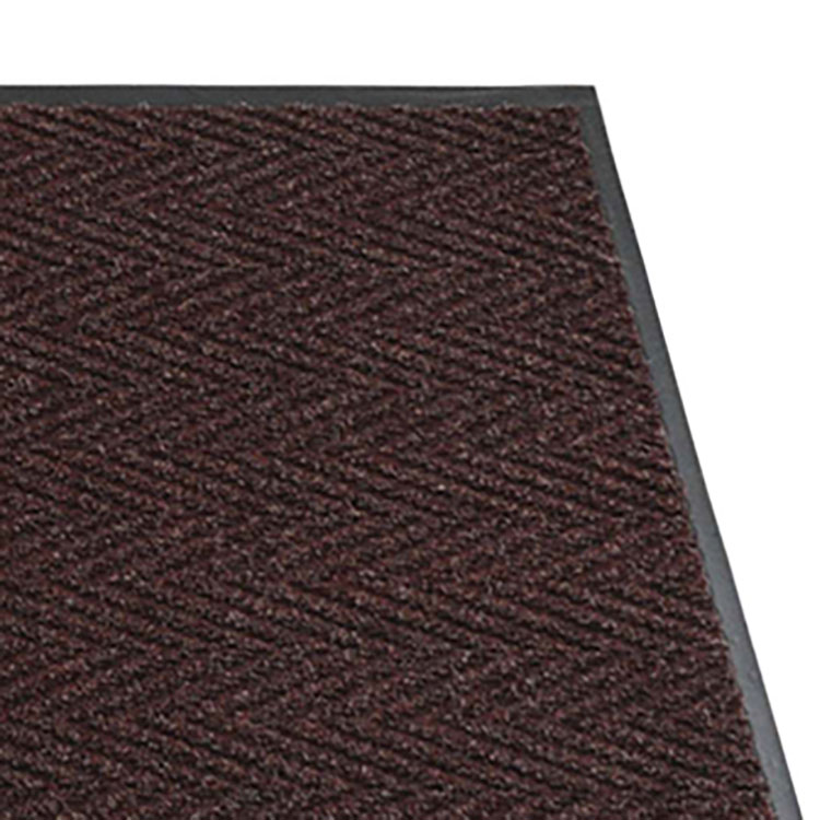The Chevron Wiper / Scraper Mat in Burgundy