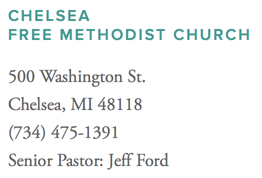 Chelsea Free Methodist Church