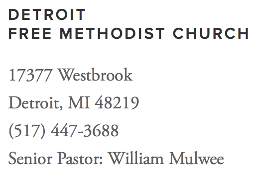Detroit Free Methodist Church