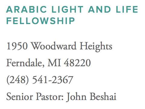 Arabic Light and Life Fellowship